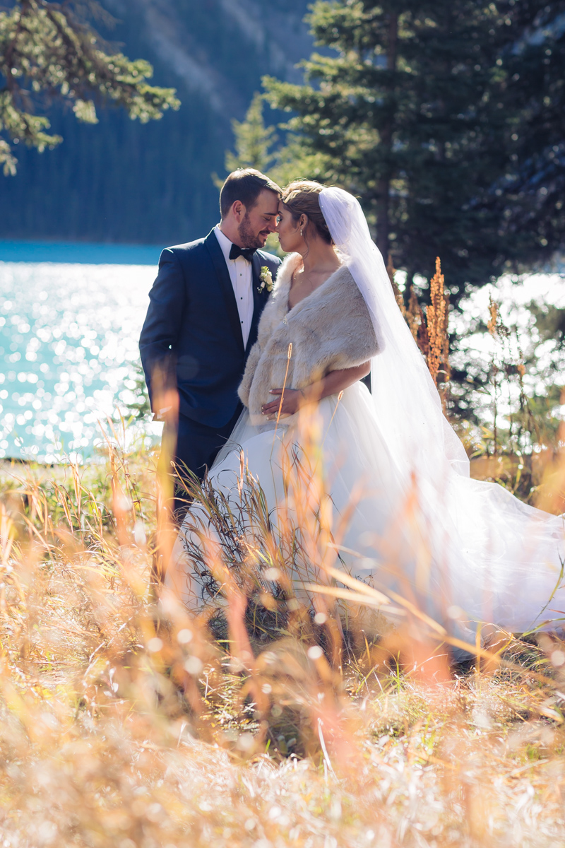 married at lake louise