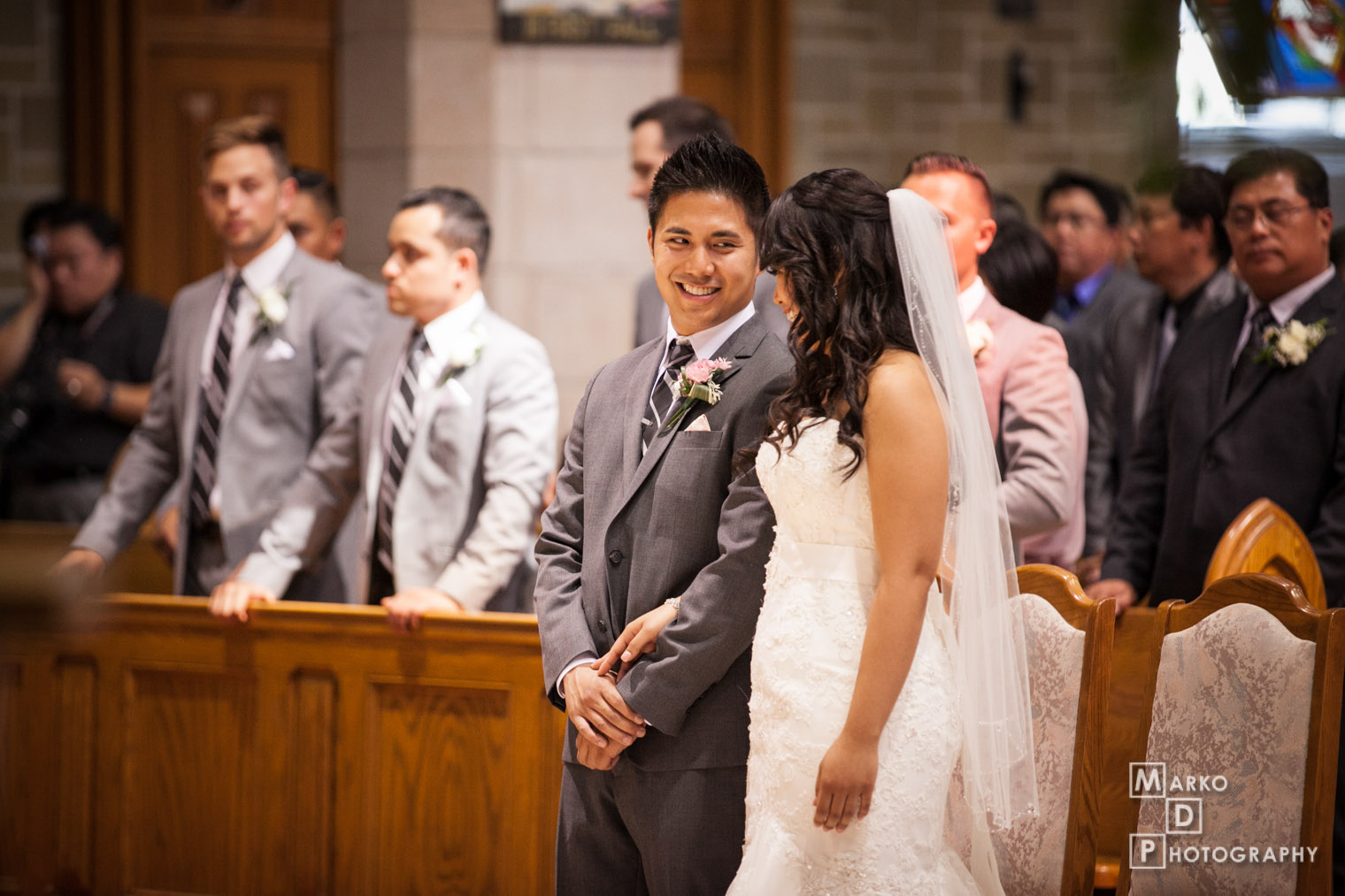 basilica wedding photographer